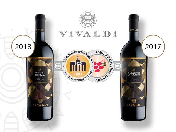 Oro per i vini Amarone e Ripasso al Berliner Wine Trophy