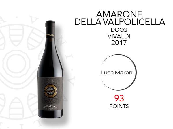 93 punti per l'Amarone Classico Vivaldi da Luca Maroni